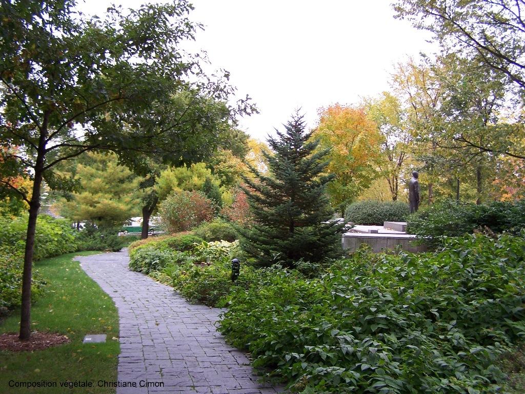 Le bois jardin parlement de qu bec les jardins cimon for Jardin quebec